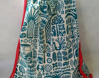 Blue Hawaiian Backpack