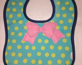 Pink Ribbon Bib