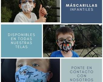 Children's cloth hygiene masks
