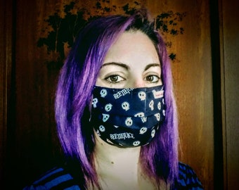 Surgical-style reusable masks
