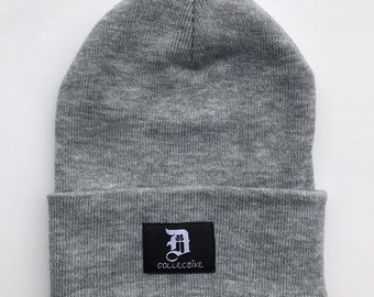 ceb8e428ddf DxCollective Heather Grey Beanie Hat