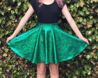 Ariel Inspired Disneybound Circle Skirt