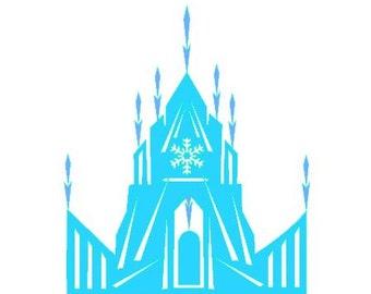 Elsa ice castle | Etsy