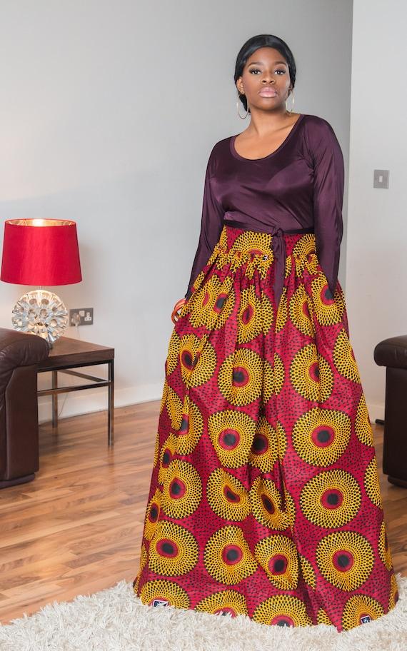 Skirt Maxi African Xaviera Xaviera African Skirt Maxi Maxi African Xaviera Skirt 11gZw7x