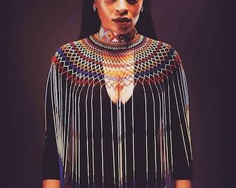 Zulu beaded Neckpiece