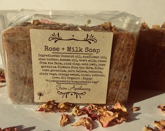 Rose + Milk Soap