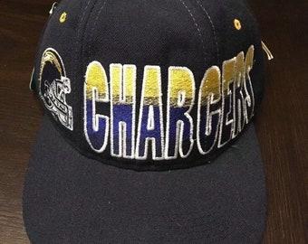 San Diego Chargers Rare Vintage STARTER NFL Deadstock Snapback Hat Cap 781eecf39