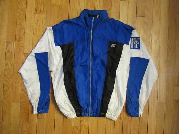48f6841ad40 SUPER RARE Vintage Nike International Windbreaker Track Jacket   Etsy