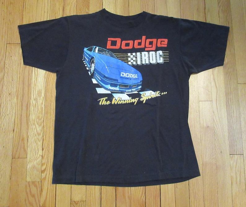 08875db9 Rare Vintage Dodge IROC Car Racing Winning Spirit Shirt Size | Etsy