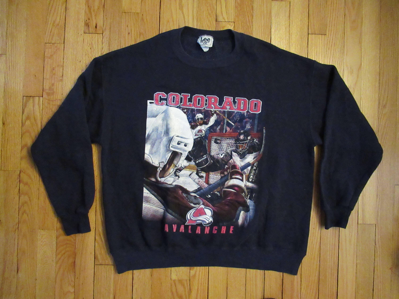 Vintage Colorado Avalanche Crewneck Sweatshirt Lee Sport XL  8da851e78