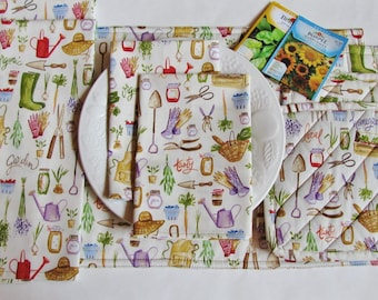 Garden Medley Kitchen Linens
