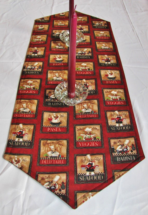 Fat Chef Table Runner
