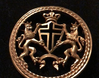 PIN Kreuzritter Goldene Löwen