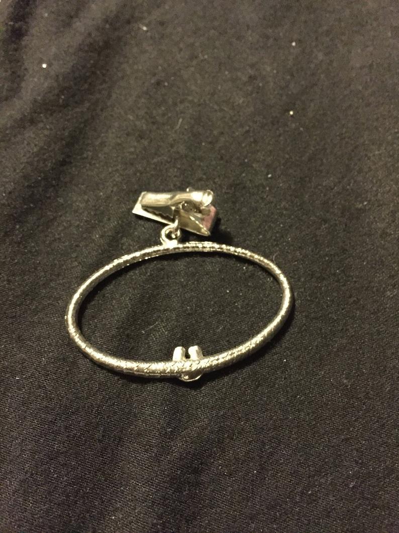 Save 15/% Vtg tie clip lucky horseshoe tie holder silvertone tie holder horseshoe vtg tie bar tie ring rock a billy tie clip tie bar