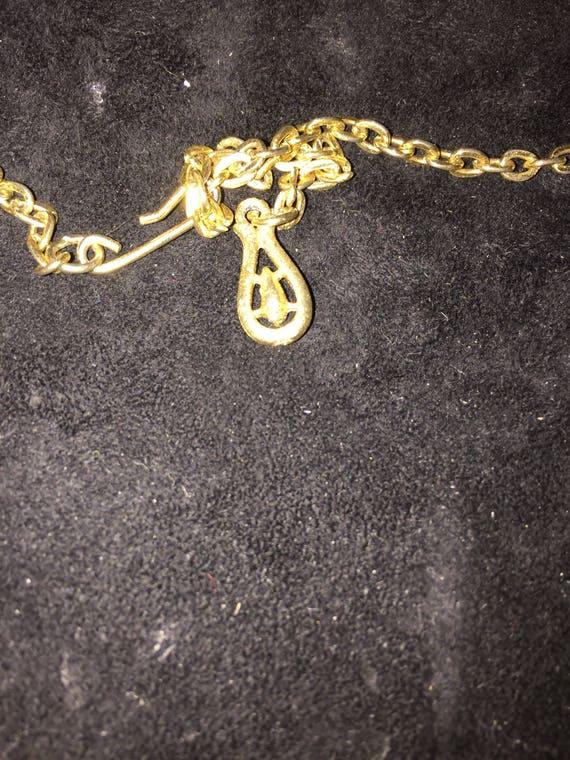 Vtg, Coro necklace  Coro snake necklace, gold sna… - image 4
