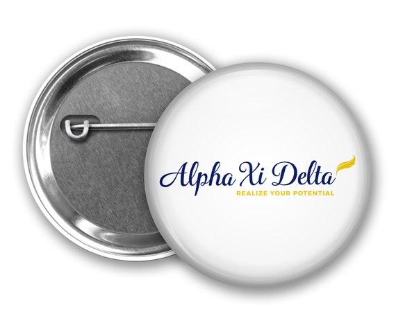 Alpha Xi Delta Big Button