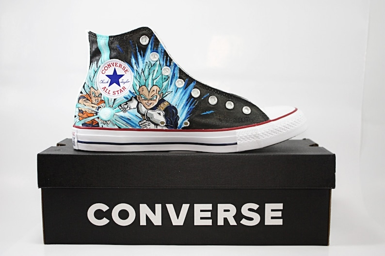 229d6679db8f Custom Converse Adult Hand Painted and One of a Kind