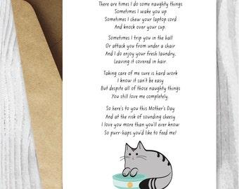 Funny Cat Poem