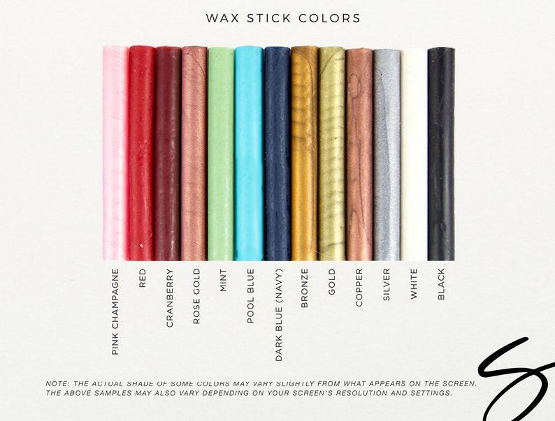 Wax Seal Sticks  Pack of 3 Sticks Wax Sealing Sticks Glue image 0