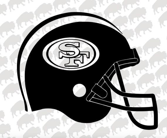 San Francisco 49ers Svg 49ers San Francisco Football Etsy