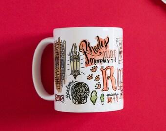 Rhodes College Mug
