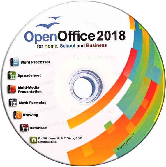Office Suite 2018 CD With PDF Software For Home Student