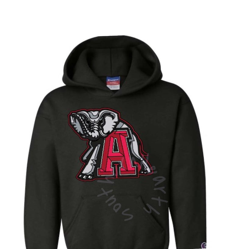 best website 87efb 5b0a7 Black Alabama Crimson Tide football hoodie. Roll Tide, Alabama shirt.  University of Alabama