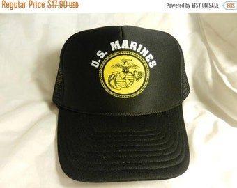 cb9460844bb 30% off Sale Vintage 1980s New Old Stock US Marines Military Hat