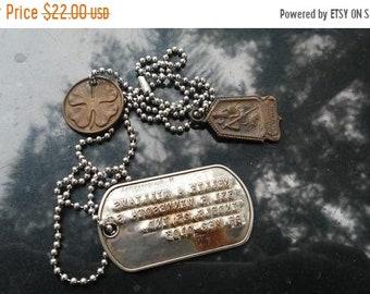 Army dog tags | Etsy