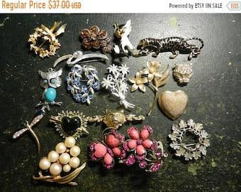 Flash 50% off sale Vintage Lot of Costume Jewelry