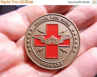 Flash 50% off sale Vintage US Air Force Challange Coin 433rd ARS Service with Pride