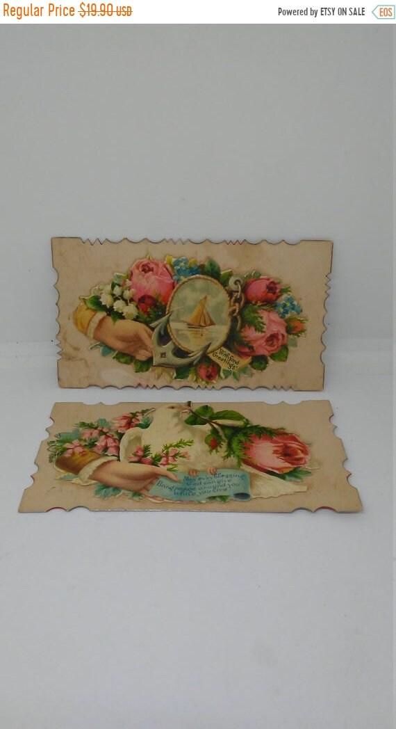 8482a08c75d8d Summer Sale 30% off 2 Antique Civil War Era Greeting Cards
