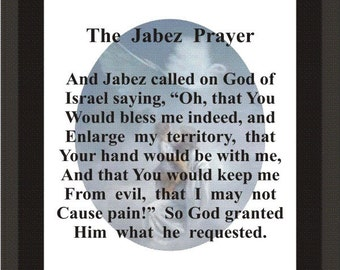 picture about Prayer of Jabez Printable identify Prayer of jabez Etsy
