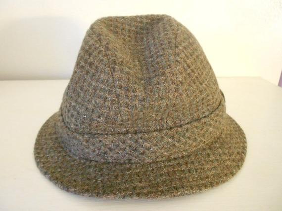 3b6e293f2bc636 Vintage Pendleton 100% virgin wool Fedora style hat Size M | Etsy