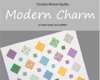 Modern Charm downloadable pdf quilt pattern