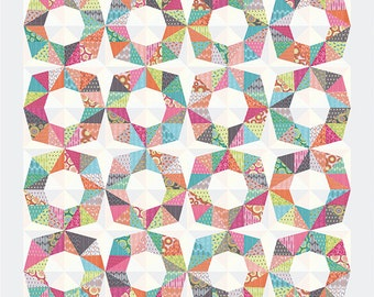 Octo quilt pattern by Zen Chic