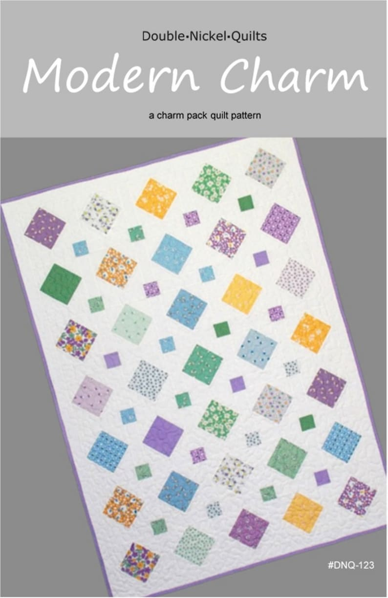 Modern Charm downloadable pdf quilt pattern image 0