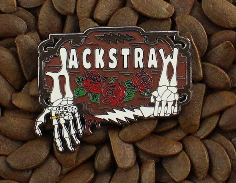 920b60db07c Grateful Dead Pins Jackstraw Lighting Bolt Pin