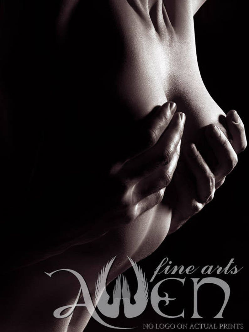 791ef08949 Sexy abstract erotic couple photograph of man s hands on