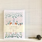 Greeting note cards set, illustrated card set, watercolour card set, assorted note card set, botanical notecard set, カード, メッセージカード セット