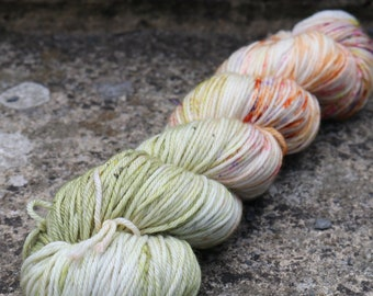 Summer Lovin' - Hand Dyed Luxury DK Yarn - 100g 225m - DK - Superwash Merino Nylon - Ready to Ship