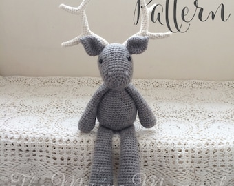 James the Stag Deer Patronus Crochet Amigurumi Pattern PDF E-Book