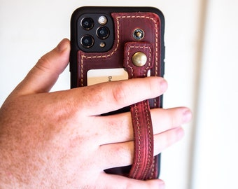Gifts For Her - Phone Case For iPhone-Custom Leather-Wallet Kickstand And Loop-The Switch 4-In-1 Leather Case for iPhone