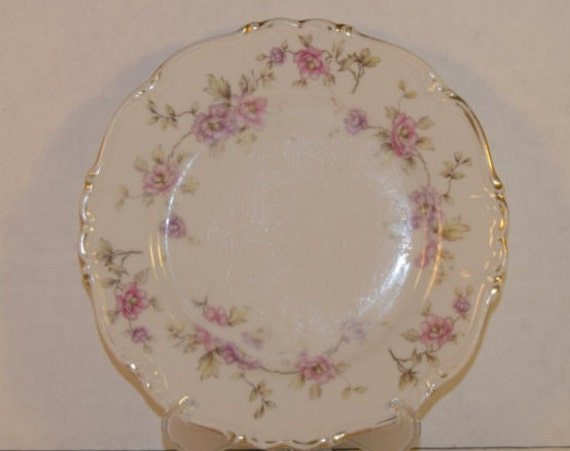 Bavaria Edelstein Salad Plate Vintage Delphine Pink Dessert Plate Discontinued China Replacement Wedding Decor Gift For Her Mothers Day Gift