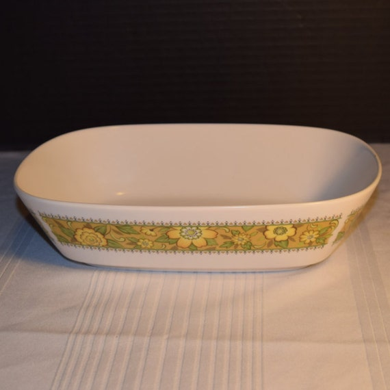 Noritake Progression Festival Serving Bowl Vintage Vegetable Serving Dish Hard to Find Rare 1970s Noritake Replacement Discontinued China