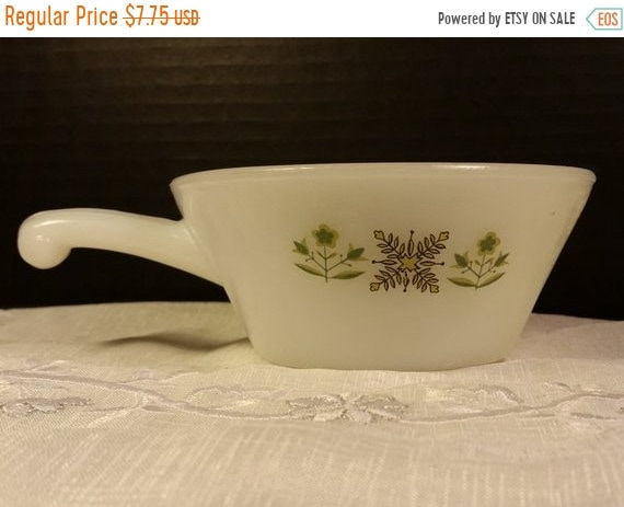 Delayed Shipping Sale Anchor Hocking Fire King Meadow Green Soup ...