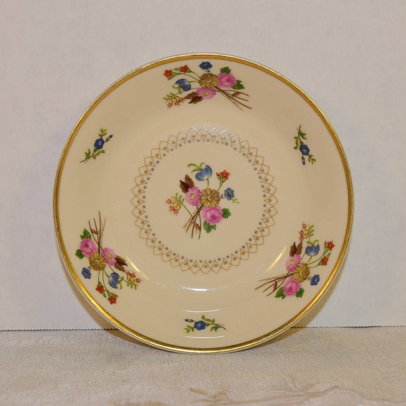 """Syracuse Old Ivory """"Coventry"""" Fruit Bowl Vintage American Berry Sauce Bowl Discontinued China Fruit Dessert Servingware Replacement China"""