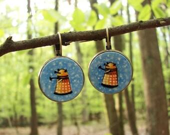 Tiny Daleks Earrings