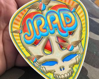 Peace, Love & JRAD 4' VInyl Sticker