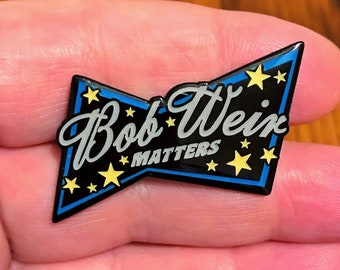 Bob Weir Matters Pin Black Throated Wind Variant